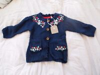 Cute baby girl cardigan and legging set. 3-6mths