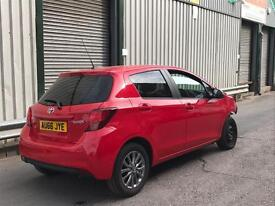 2016 TOYOTA YARIS DAMAGED SALVAGE STARTS & DRIVES REPAIRABLE EASY FIX BARGAIN SPARES OR REPAIR