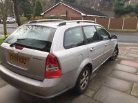 Chevrolet lacetti 1.8 2009 automatic spares or repairs