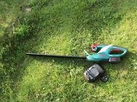 Bosch 18v cordless hedge trimmer