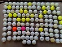 120 Used Golf Balls