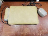 Heated and Vibrating Massage Pad