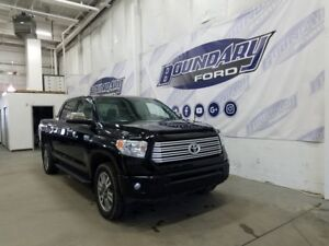 2016 Toyota Tundra Platinum W/ 5.7L V8, Quilted Leather, Sunroof