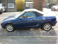 MGF Convertible 1.8 2001 Y reg Lady owned last 6 years,