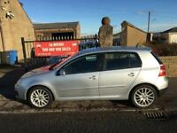 VW GOLF 1.4 GT (170) (56) 1 YEAR MOT , FULL SERVICE HISTORY, WARRANTY, RARE CAR £2395