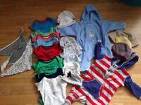 Baby boy clothes .