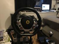 Thrustmaster tx 458 edition set up