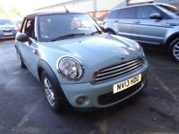 MINI CONVERTIBLE 1.6 One 2dr [Pepper Pack] (blue) 2013