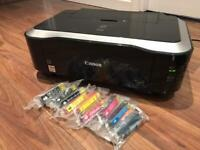 Canon iP4600 PIXMA Inkjet colour printer incl. lots of ink