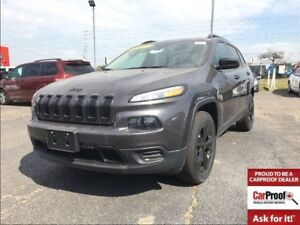 2017 Jeep Cherokee SPORT**BACK UP CAM**BLUETOOTH**ALTITUDE PACKA