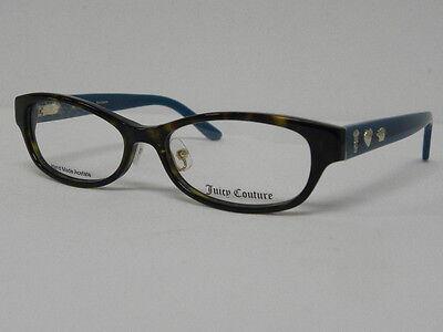 Juicy Couture JU 134/F 086 Dark Havana 53mm MSRP $180 Women Eyeglasses