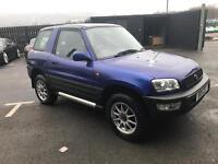 Toyota RAV 4 1998 R reg 2.0 4x4 petrol