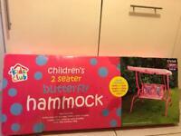 Children's garden hammock