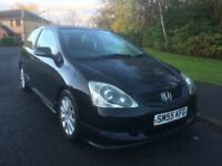 HONDA CIVIC 1600 SPORT , SERVICE HISTORY , MOT FEB 21 2018 , BLACK ,