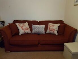 Furniture village 3 seater sofa