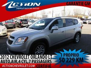 2012 CHEVROLET ORLANDO LT 4 CYL,AUTO,AIR, 7 PASSAGERS