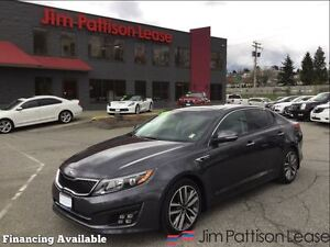 2015 Kia Optima SX Turbo, low km's!