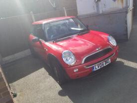 Red 2004 Mini One
