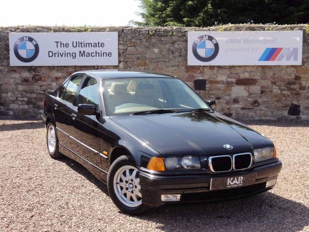 bmw e36 323i se saloon manual 1998 r reg only 71k miles 1 owner mot 1 year in tranent. Black Bedroom Furniture Sets. Home Design Ideas