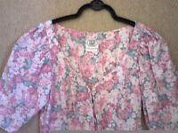 Laura Ashley floral dress...size 10 Vintage....Excellent condition