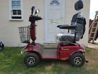 Poineer 329LE Mobility Scooter Red