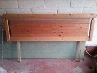 Pine Headboard for Double Bed (King size)