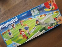 Playmobil 4700 - boxed complete Football Game
