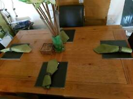 Dinning table display set