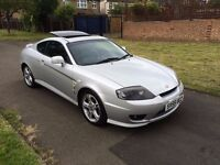 Hyundai Coupe 2.0 SE 3dr, 6 MONTHS FREE WARRANTY, NEW CLUTCH FIT 2 MONTH AGO, FULL SERVICE HISTORY