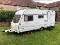 4 berth Caravan. Avondale Perle Corfu. Lightweight. With everything needed to hook up and use.