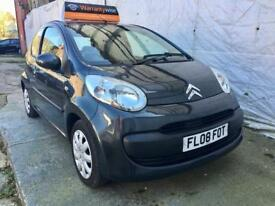 CITROEN C1 1.0i RHYTHM 3DR,TAX £20 A YEAR LOW MILEAGE 67000 MOT 15/01/19 SERVICE HISTORY