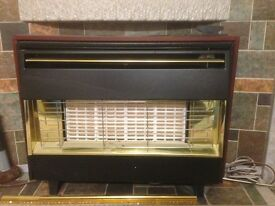 Retro 1970s Gas Fire - in good working order.