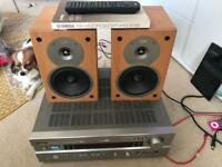 Yamaha RX v630rds amp / receiver and gale speakers