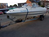 Bayliner 2050 Cuddy with 90HP engine and trailer