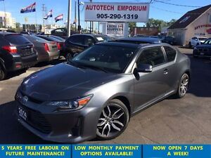 2014 Scion tC Auto Panoramic Sunroof 19alloys