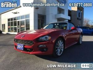 2017 Fiat 124 Spider Lusso - Leather Seats - Low Mileage