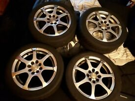 100+ Multifit 15'' Alloys 4x100 4x108