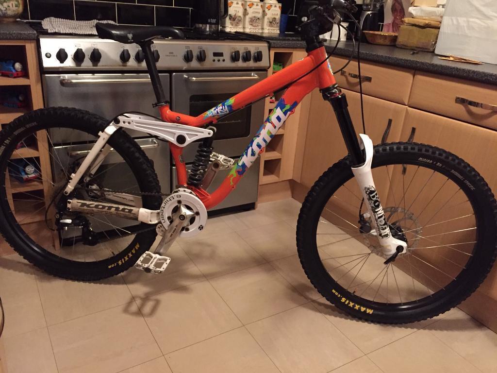 b9b930f1280 Kona Stinky Downhill Mountain Bike vgc | in Derby, Derbyshire ...