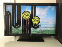 "Used LG 42"" 42LD450 Full HD 1080p Digital Freeview LCD TV"