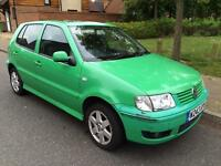 Volkswagen polo 1.4 petrol low mileage 1year mot