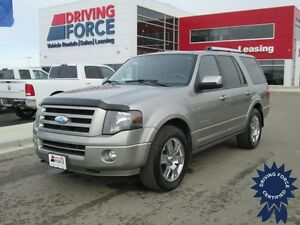 2008 Ford Expedition Limited 4x4 - Luggage Rack, A/C, 139,385 KM