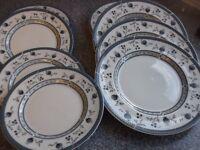 8 doulton plates