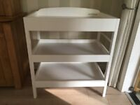 White East Coast Wooden Changing Table