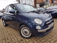 Fiat 500 1.2 Lounge RHD 3dr, Automtic Full Service History, 2 Lady Owners, 3 MONTHS WARRANTY