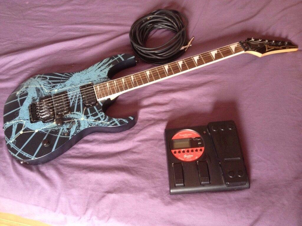Ibanez RG/Korg Tone Works AX1G
