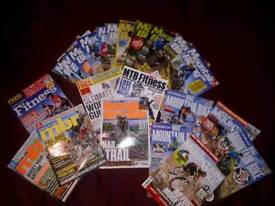 2 mountain biking books