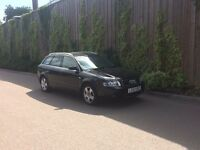 53 PLATE AUDI A4 ESTATE 2.0 SE AUTO FULL BLACK LEATHER LOW MILEAGE - DRIVES REALLY SMOOTH