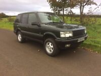 RANGE ROVER P38 4.0 V8 SE AUTO - FULL LEATHER - £1450 - NEW ENGINE FITTED - NOT SHOGUN - LAND ROVER