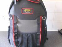 stnley fat max tool bag/back pack