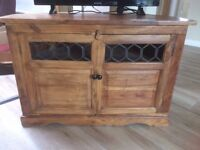 TV Stand in Indian Hardwood
